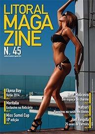 Litoral Magazine 45 | Agosto 2014