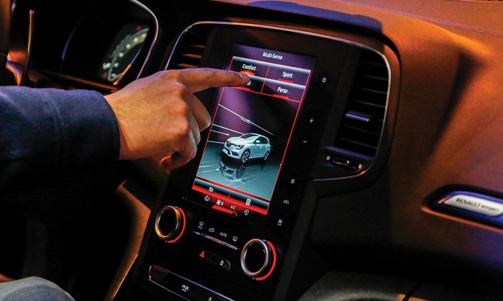 Interior do novo Renault Mégane