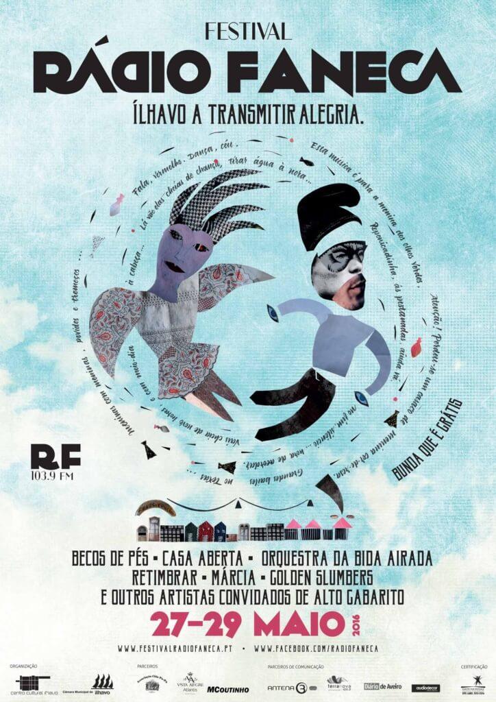 Cartaz Festival Rádio Faneca 2016