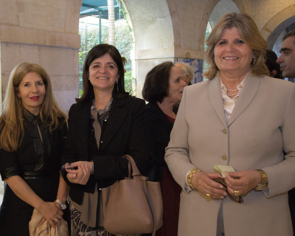 Rosa Maria Almeida, Paula Silva e Maria Pinto Matos