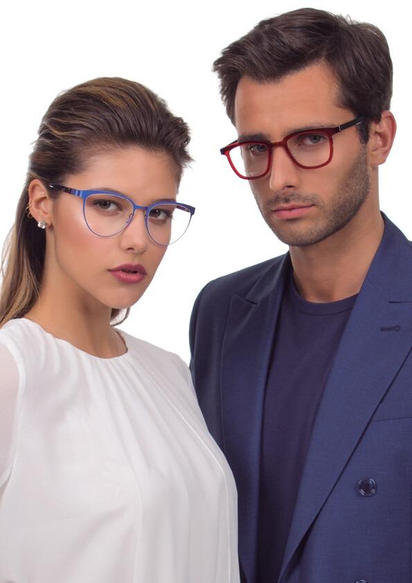 Lorenza: óculos 9583, João: óculos 1037