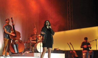 O primeiro dia do festival abriu com o concerto da Banda Deolinda no Cais  da Fonte Nova