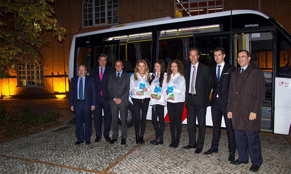 conferencia de imprensa aveiro bus litoral magazine