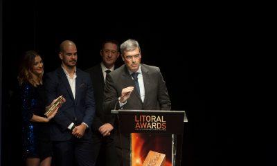Anselmo santos homenageado na Gala Litoral Awards - Litoral Magazine