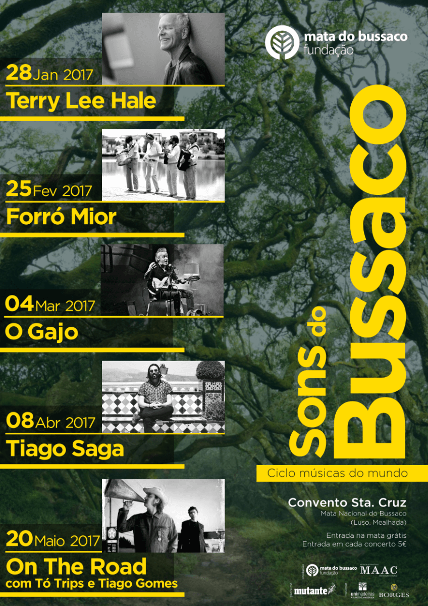 Cartaz Sons do Bussaco - Músicas do Mundo