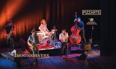 Pizzarte apoia presença da banda moonshiners no eurosonic