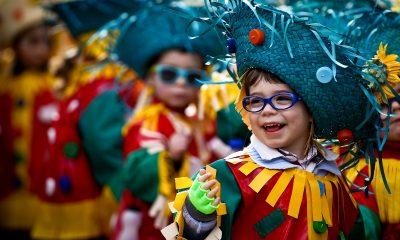 desfile carnaval infantil Aveiro litoral magazine