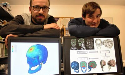 Investigadores Fábio Fernandes e Ricardo Sousa da UA