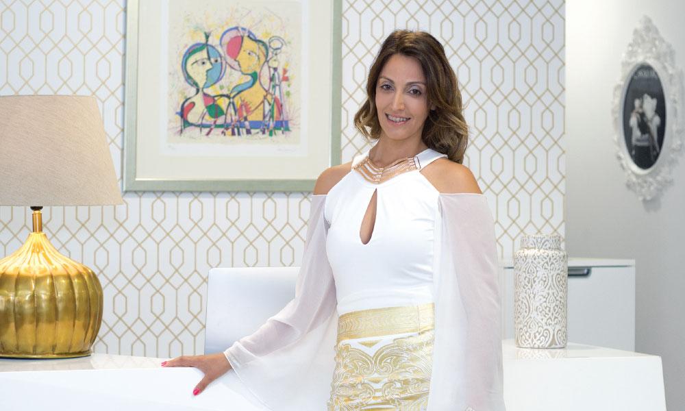 Sílvia Marques, proprietária da BLC - litoral maagazine