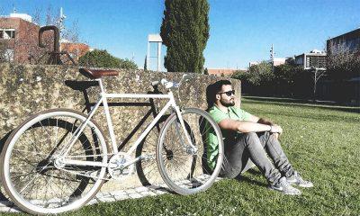 Bicicleta na Universidade de Aveiro