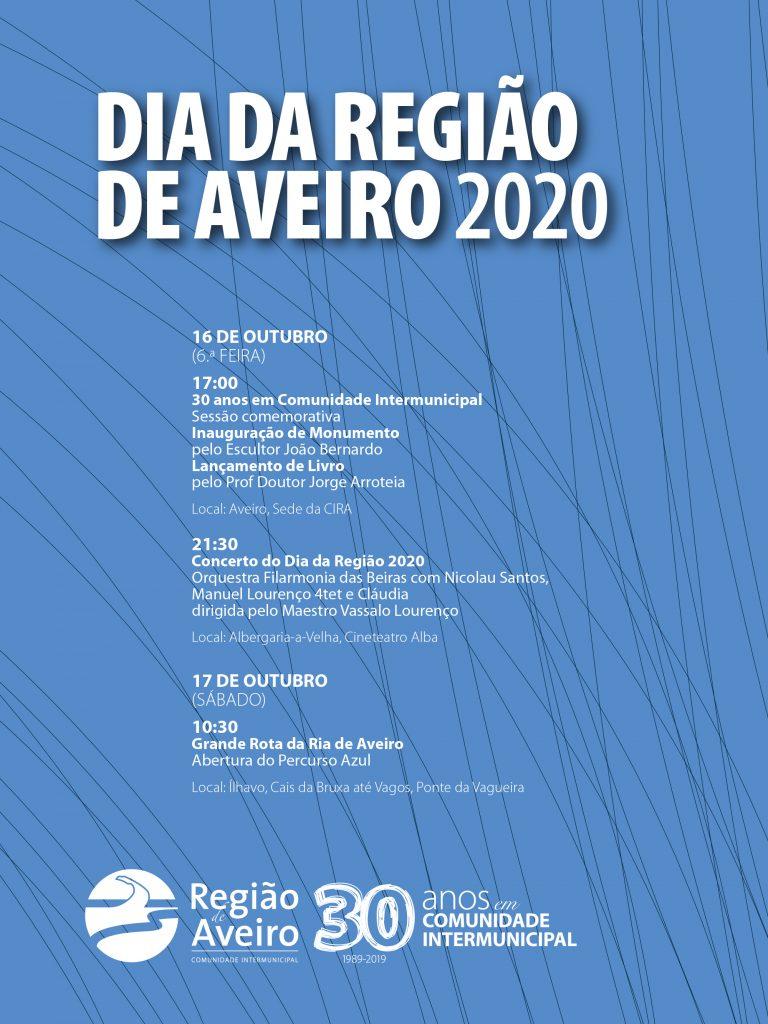 Programa Dia da Região de Aveiro 2020